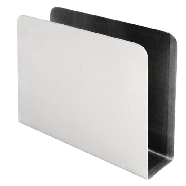 Napkin Holder Square Stainless Steel