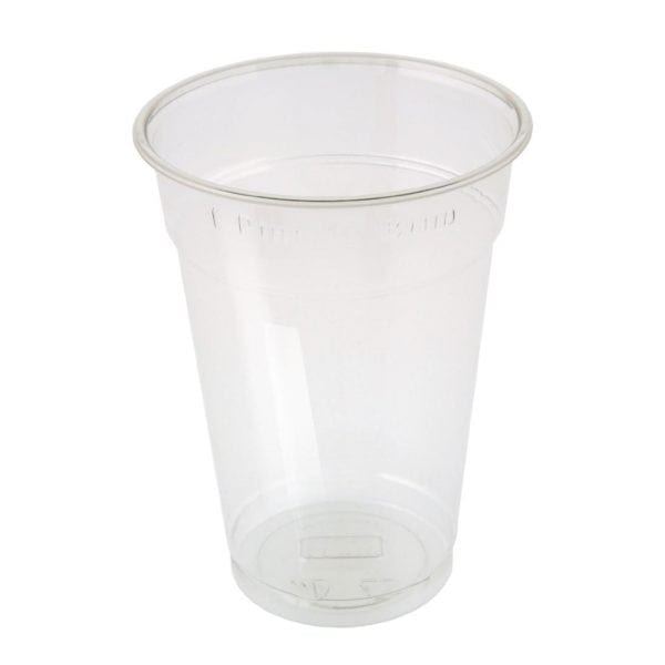 One Pint to Brim tumbler CE Marked rPET (Box 500)-0