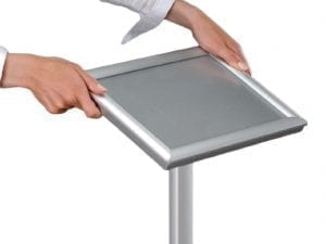Snap Frame Flexible Display Stand A3-0
