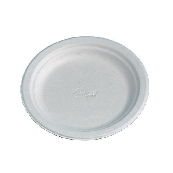 "Chinet Round White Plate - 6 3/4"" (Sleeve 175)-0"