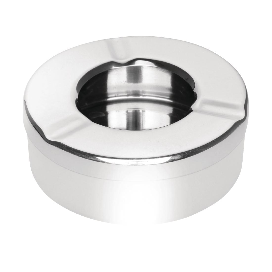 Stainless Steel Windproof Ashtray (Box 6)-0