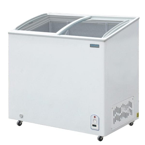 Polar Display Chest Freezers - 200Ltr - R600a-0