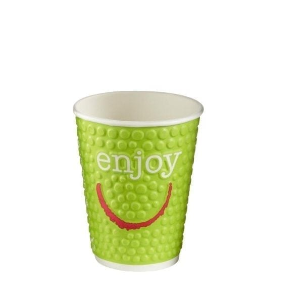 Enjoy Double Wall Paper Hot Cups - 8/9oz (Box 875)-0