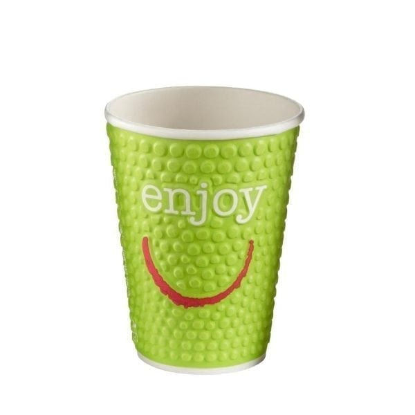 Enjoy Double Wall Paper Hot Cups - 12oz (Box 680)-0