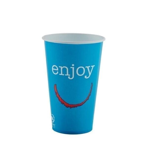 Enjoy Paper Cold Cups - 12oz (Box 2000)-0
