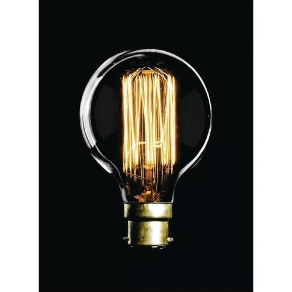 Crystalite Antique Squirrel Cage G80 BC 60watt Decorative Lamp-0