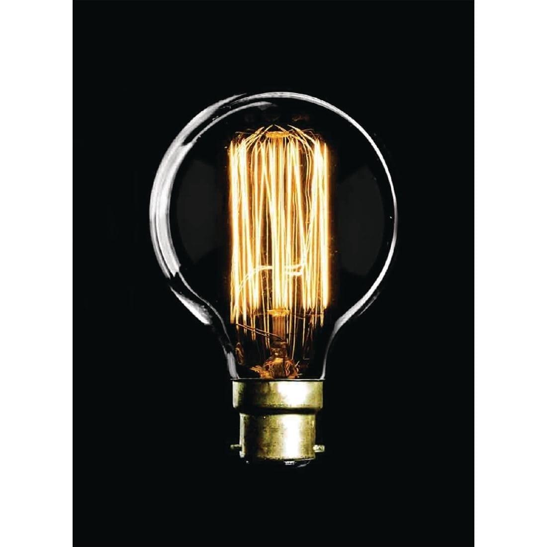 Crystalite Antique Squirrel Cage G80 BC 60watt Decorative Lamp-0