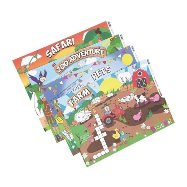 Craftis Childrens Assorted Colouring Mat (Case 500)