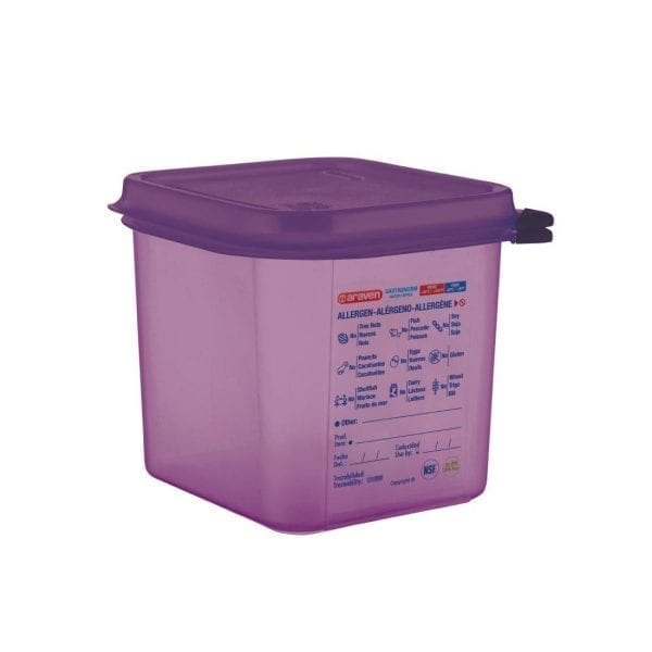 Araven Allergen Container GN - 1/6 2.6Ltr & Airtight Lid-0