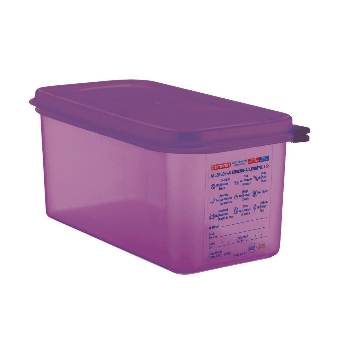 Araven Allergen Container GN - 1/3 6Ltr & Airtight Lid-0