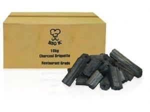 Big K Restaurant Grade Briquettes Charcoal - 10kg-0
