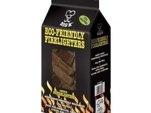 Big K Eco-Friendly Firelighters 100% Recycled (Pack 96)-0