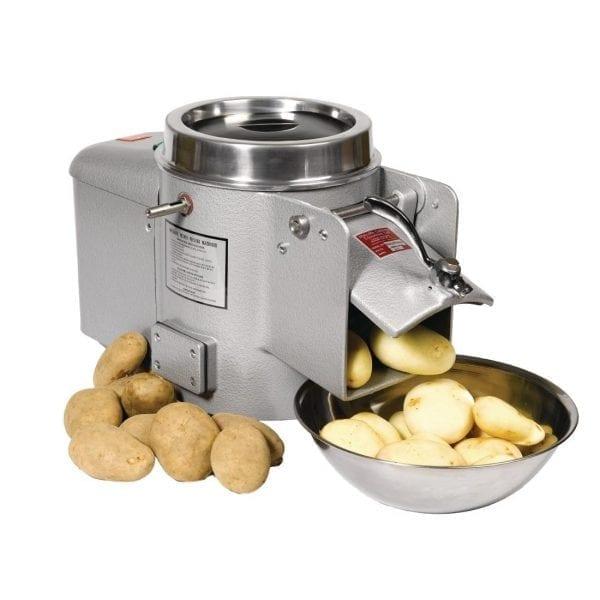 Metcalfe EP10 4.5kg Potato Peeler Grey (Direct)-0