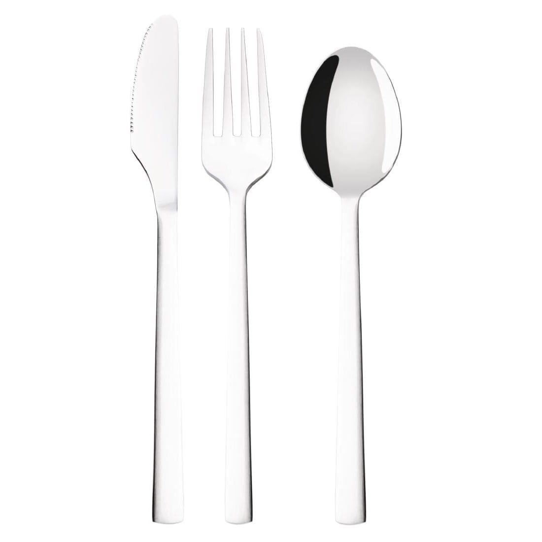 Olympia Airnox Cutlery Sample Set (Table Knife Table Fork Dessert Spoon)-0
