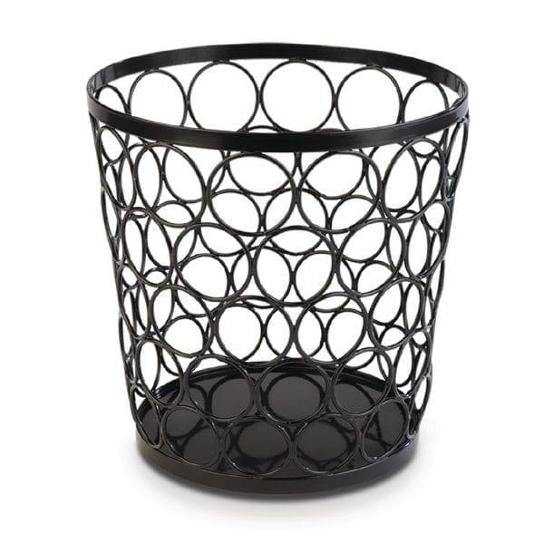 APS+ Metal Basket Black 210mmd 210mm h (B2B)-0