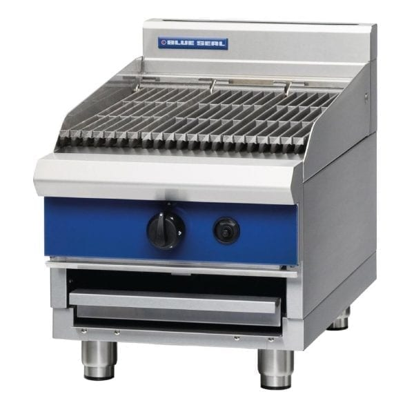 Blue Seal 450mm wide Chargrill Bench Natural Gas (Direct)-0