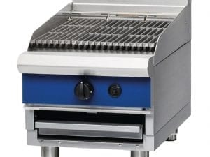 Blue Seal 450mm wide Chargrill Bench LPG (Direct)-0