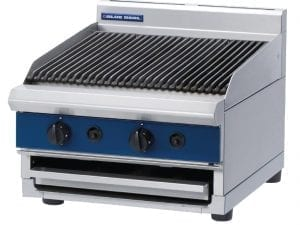 Blue Seal 600mm wide Chargrill Bench Natural Gas (Direct)-0