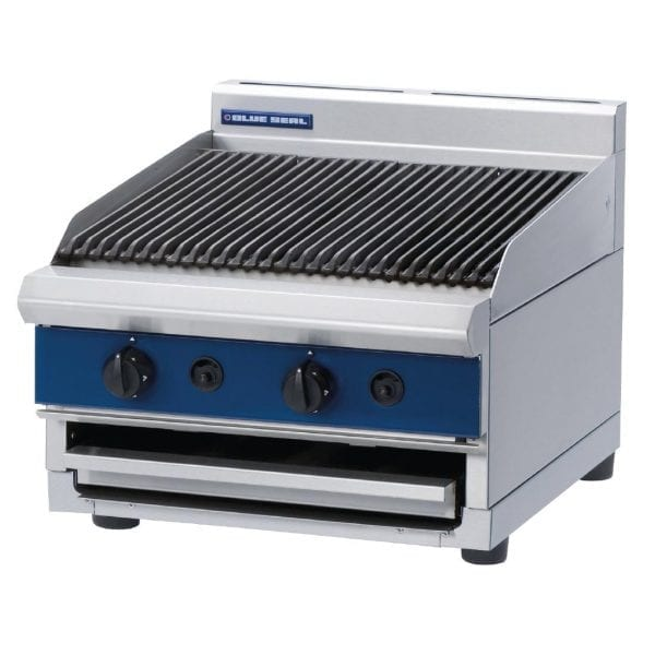 Blue Seal 600mm wide Chargrill Bench LPG (Direct)-0