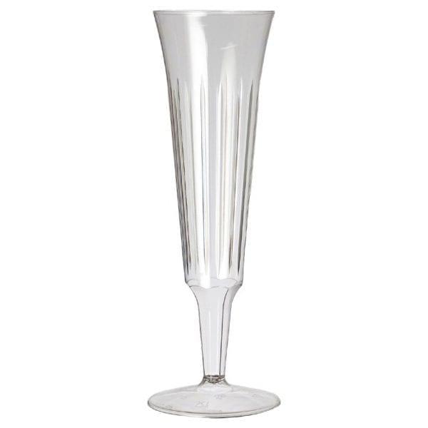 Plastico Disposable Champagne Flutes (Pack 10)-0