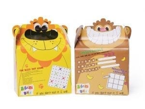 Crafti's Childrens Bizzi Boxes Assorted Zoo Lion & Monkey (Case 200)-0