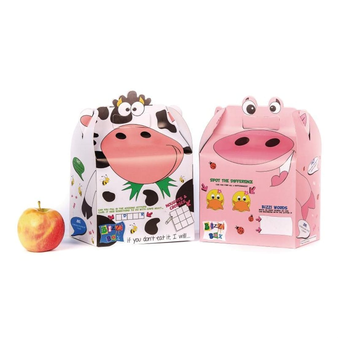 Crafti's Childrens Bizzi Boxes Assorted Farm Cow & Pig (Case 200)-0