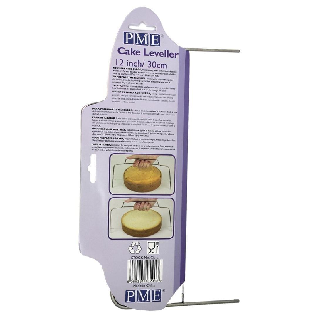 "PME 12"" Cake Leveller-0"