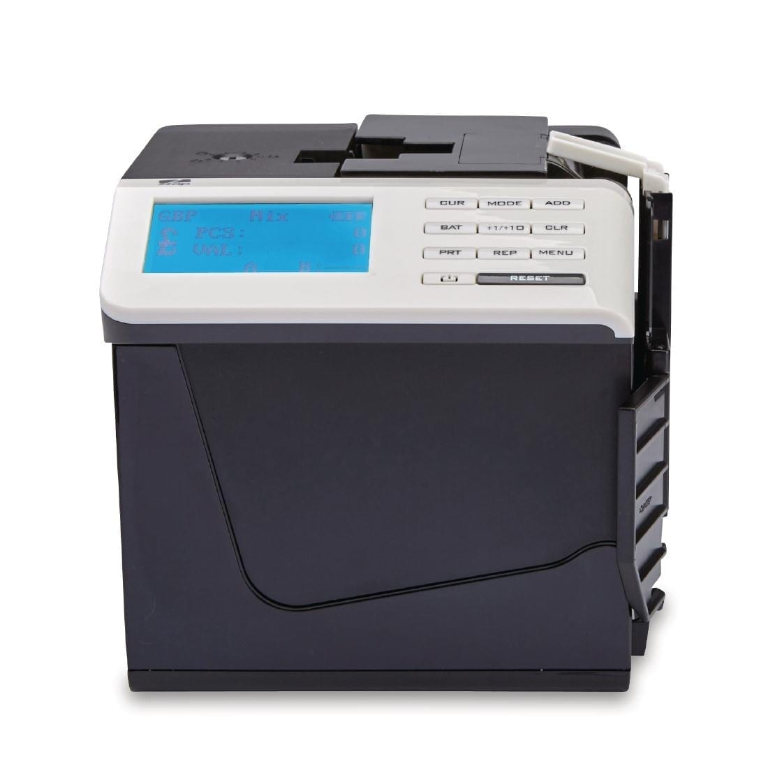 Zzap Banknote Counter 250notes/min - 4 currencies Rechargeable Battery