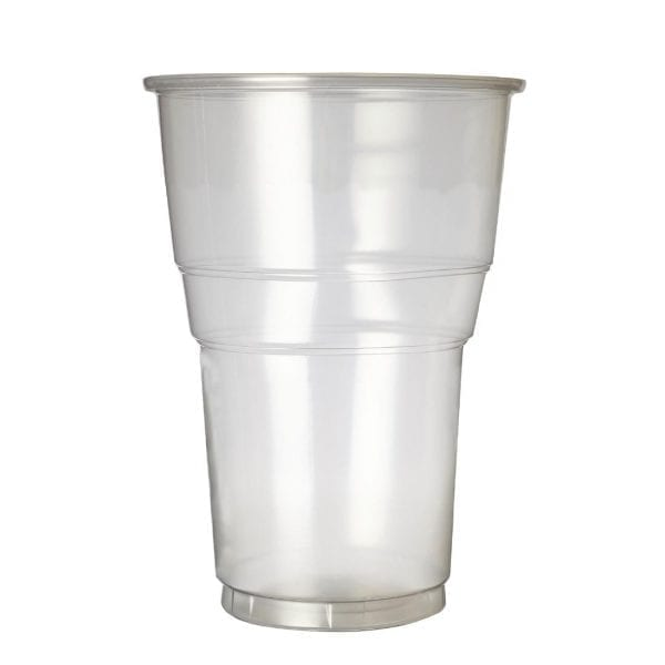 Plastico Premium Flexy Glass Pint CE Glass (Box 1000)-0