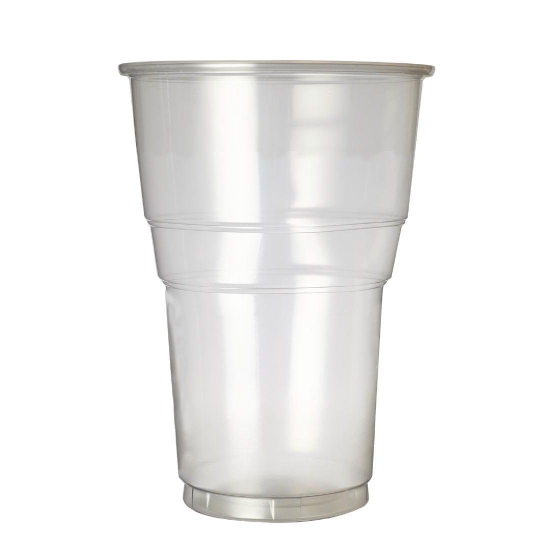Plastico Premium Flexy Glass Pint CE Glass (Box 1000)-0