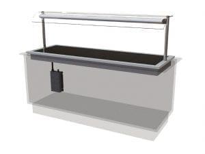 Designline Ceran Glass Hotplate Self Service 1875mm (L) (Direct)-0