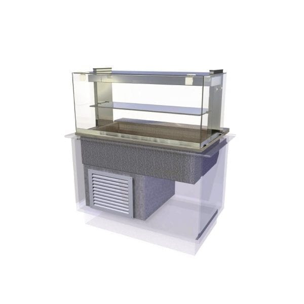 Kubus Cold Deli Assisted Service 1525mm (L) (Direct)-0