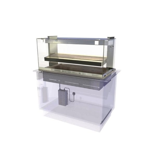 Kubus Heated Deli Assisted Service 1175mm (L) (Direct)-0