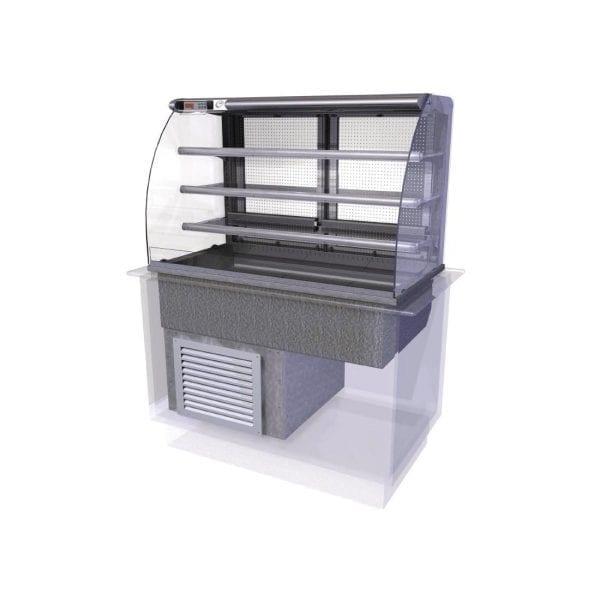 Designline Cold Multideck (Rear Doors) Self Service 1175mm (L) (Direct)-0