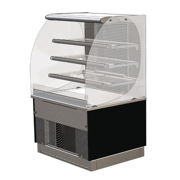 Designilne Cold Patisserie (Rear Door) Self Service 900mm (L) (Direct)-0