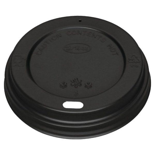 Fiesta Lid For Hot Cups Black - 12/16oz (Pack 1000)