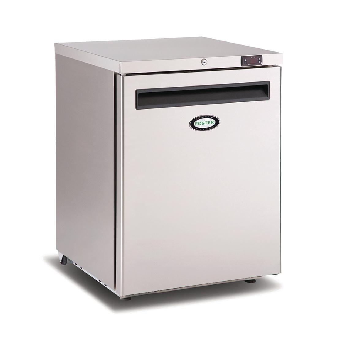 Foster 1 Door 150Ltr Undercounter Freezer R290 (StSt Ext Alu Int) (Direct)-0