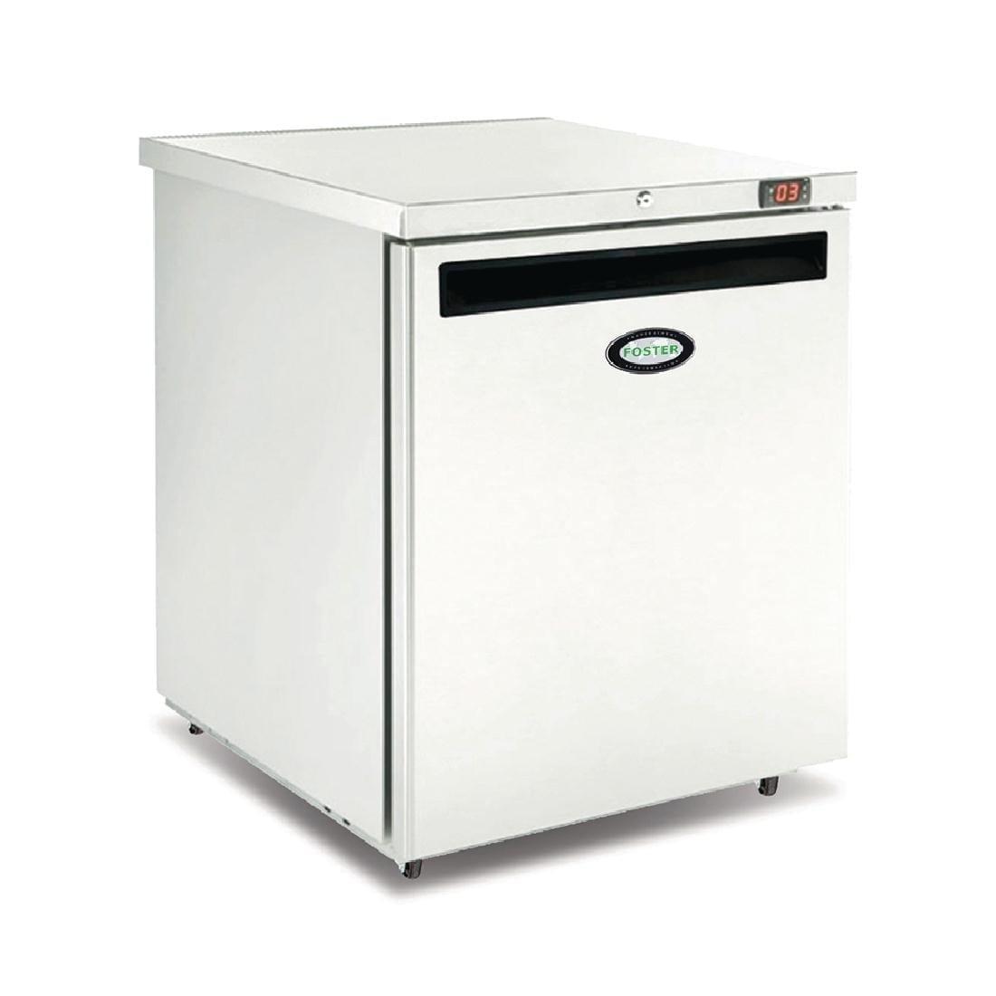 Foster 1 Door 200Ltr Undercounter Freezer R404a (StSt Ext Alu Int) (Direct)-0