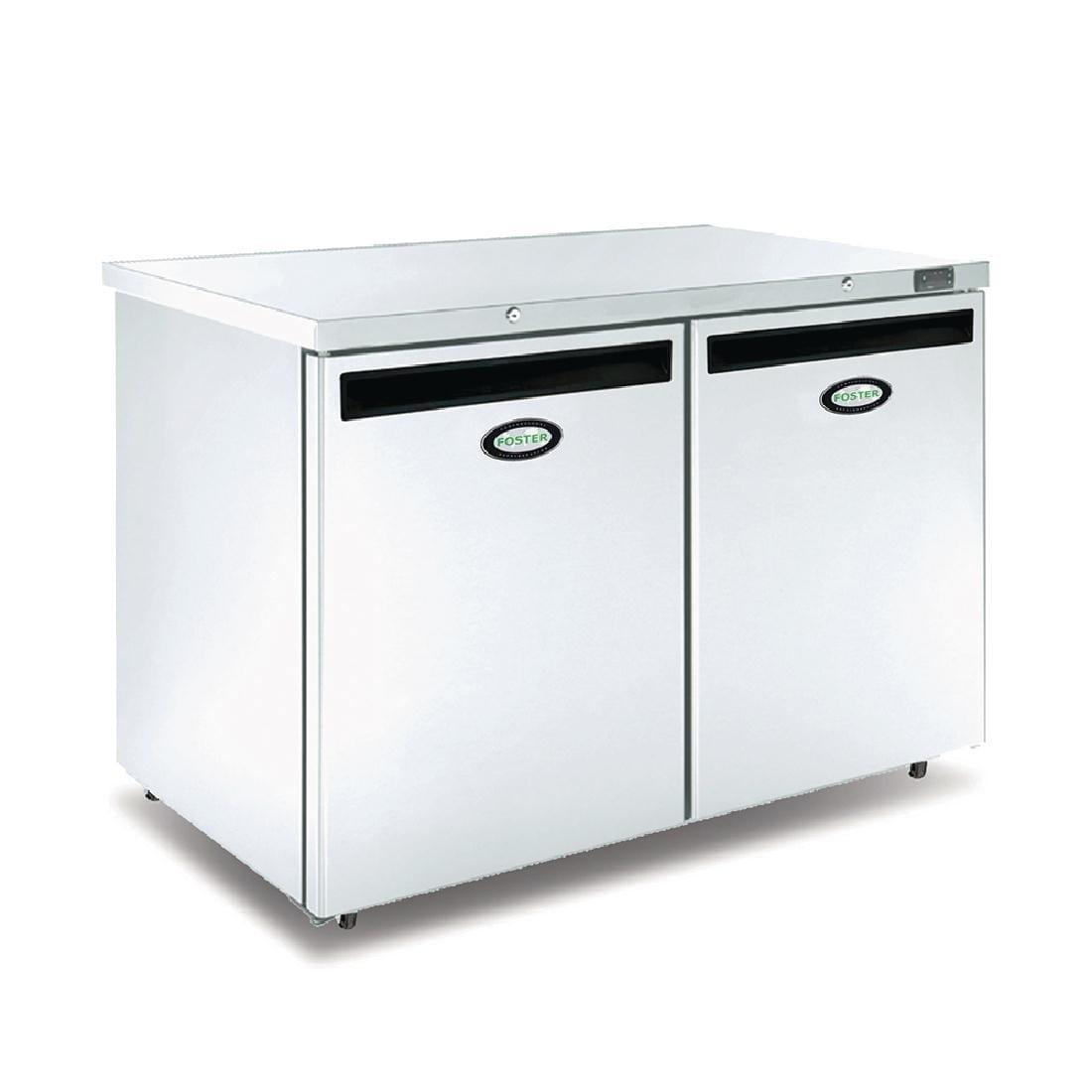Foster 2 Door 360Ltr Undercounter Freezer R404a (StSt Ext Alu Int) (Direct)-0