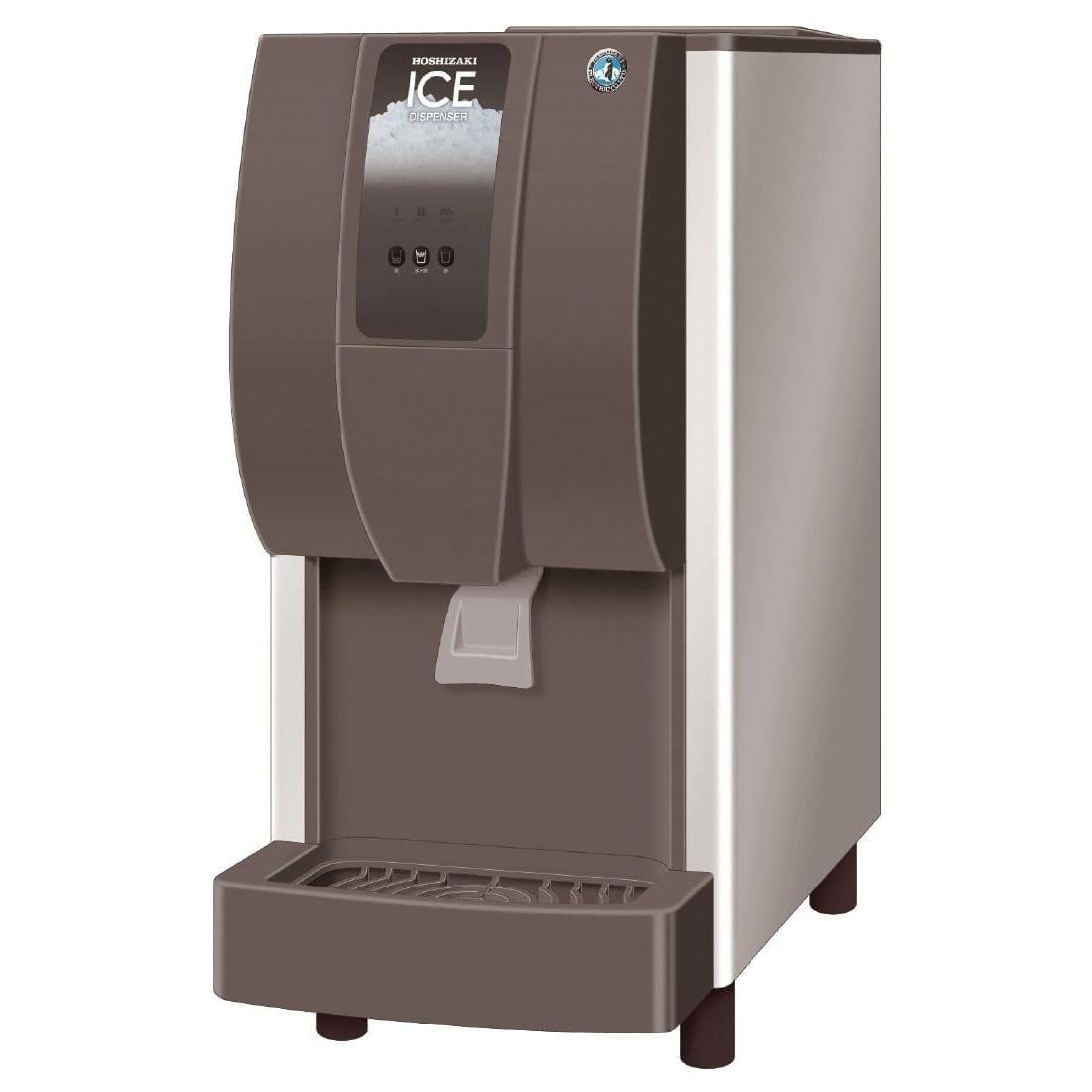 Hoshizaki Cubelet Ice & Water Dispenser 60kg/24hr Lever/Push Button (Direct)-0