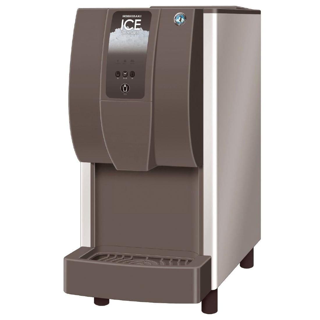 Hoshizaki Cubelet Ice & Water Dispenser 60kg/24hr Push Button (Direct)-0
