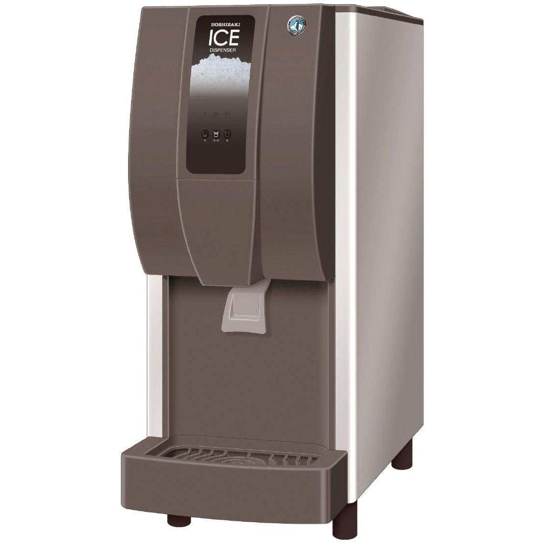 Hoshizaki Cubelet Ice & Water Dispenser 125kg/24hr Lever/Push Button (Direct)-0