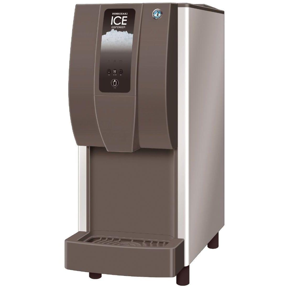 Hoshizaki Cubelet Ice & Water Dispenser 125kg/24hr Push Button (Direct)-0