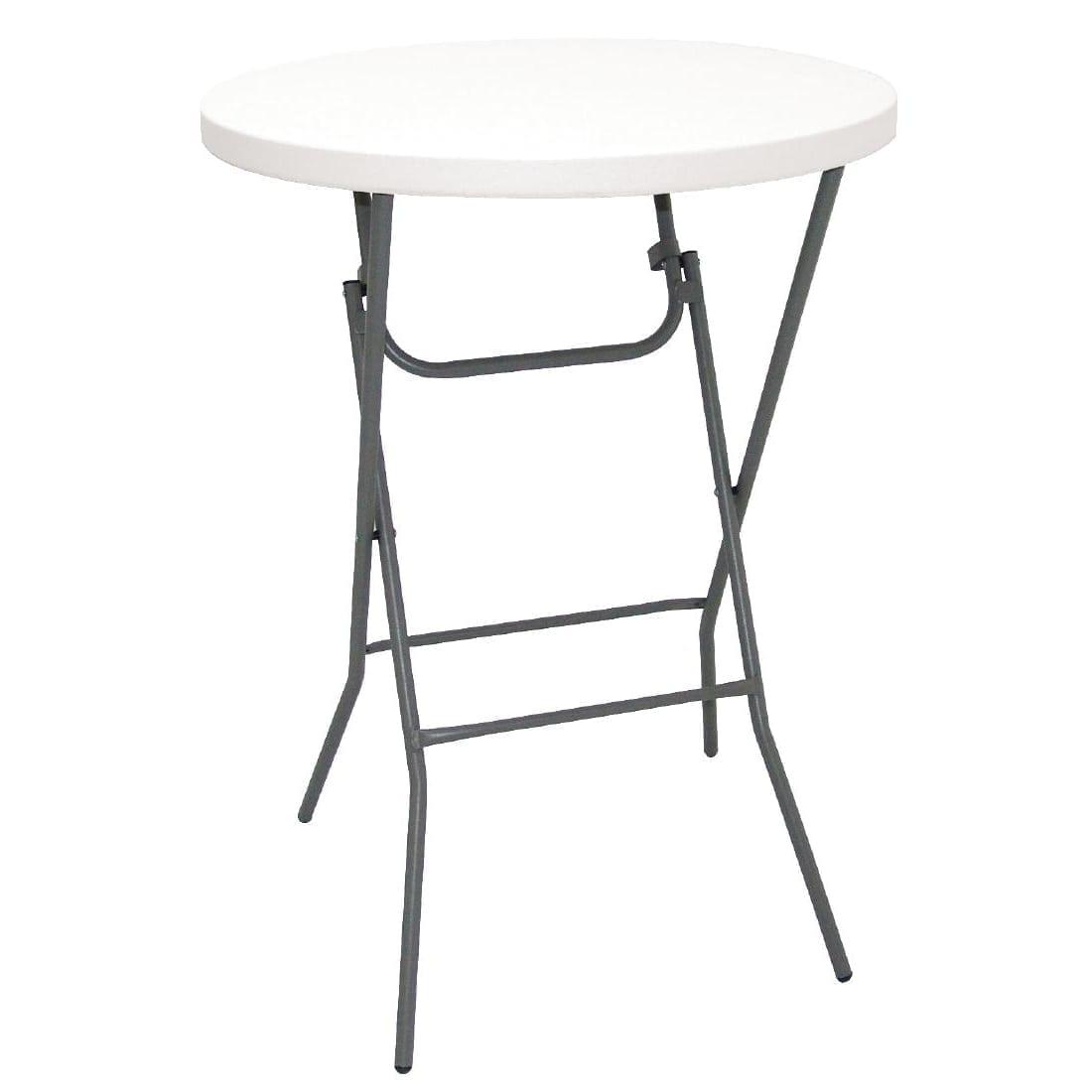 Bolero Foldaway Poseur Table - 800mm dia-0