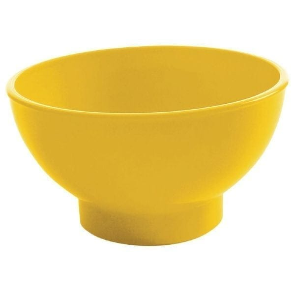 Kristallon Polycarbonate Sundae Dish Yellow (Pack 12)-0