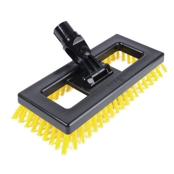 Scot Young Deck Scrubber - Yellow
