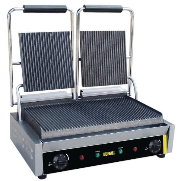 Buffalo Bistro Contact Grill - Double (Ribbed/Ribbed)-0