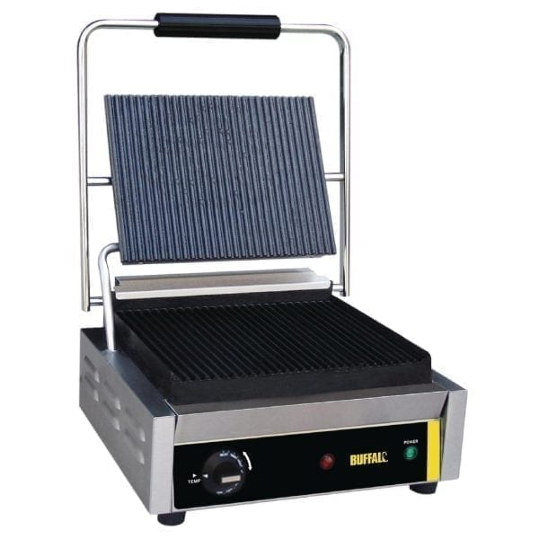 Buffalo Bistro Contact Grill - Large (Ribbed/Ribbed)-0