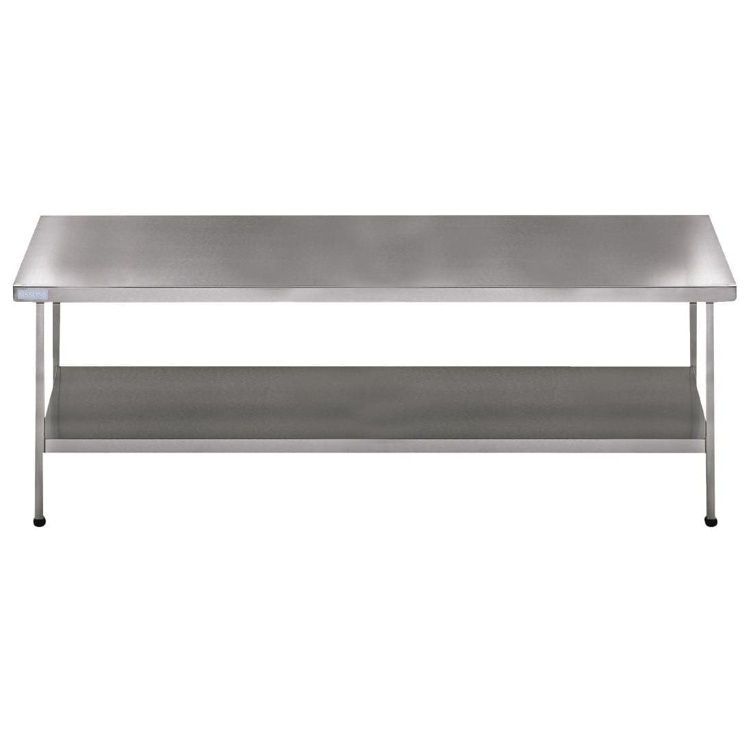 Sissons Centre Table St/St - 1500x650mm F/Assembled (Direct)-0