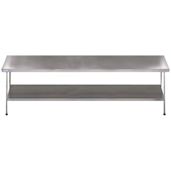 Sissons Centre Table St/St - 1800x650mm F/Assembled (Direct)-0